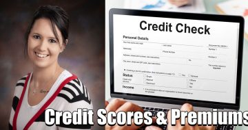 credit scores affect premiums