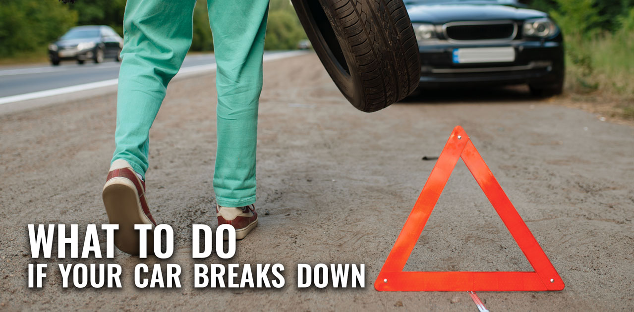 what to do if your car breaks down