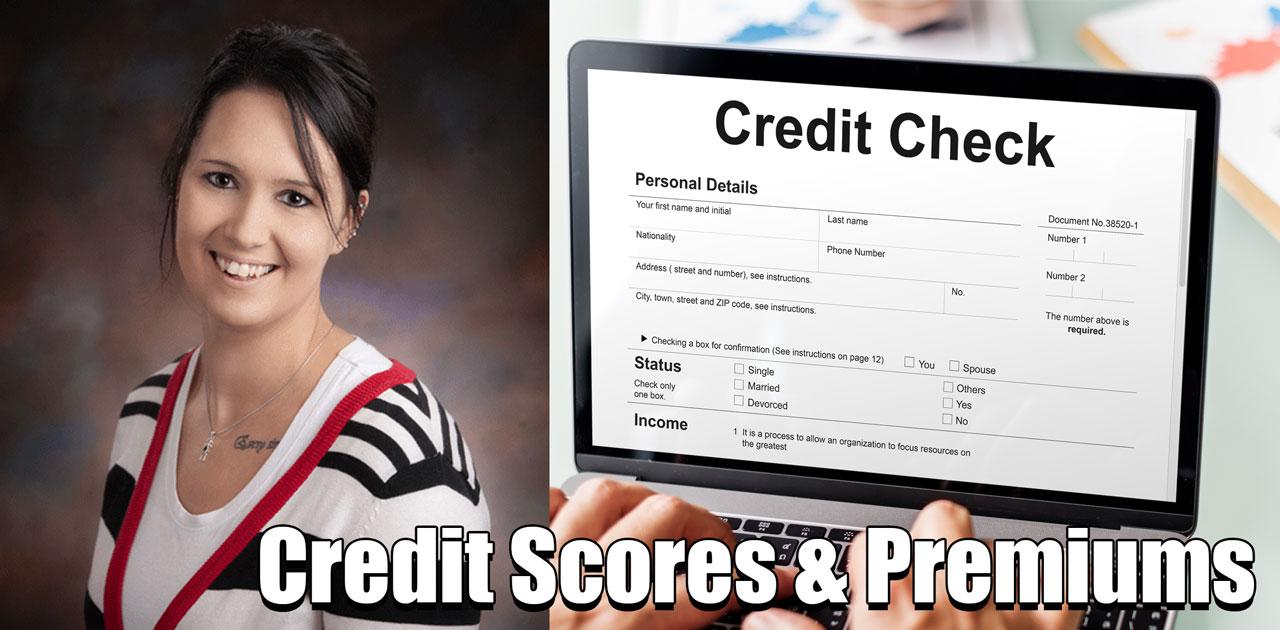 credit scores affect premiums