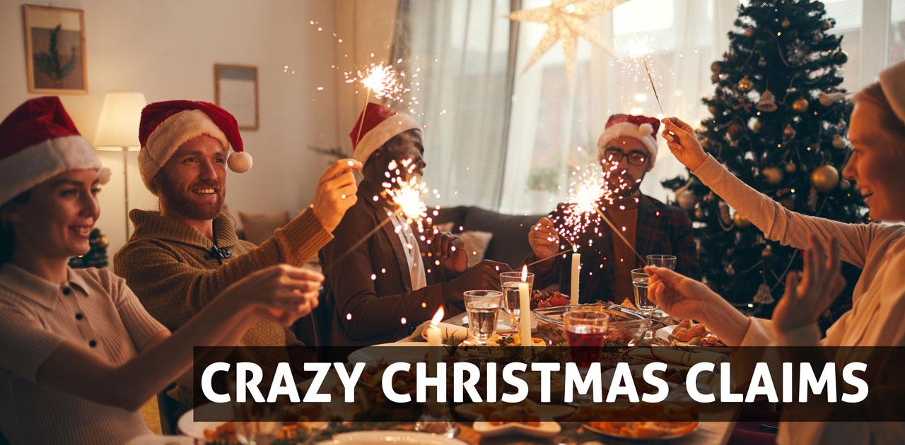 crazy christmas claims