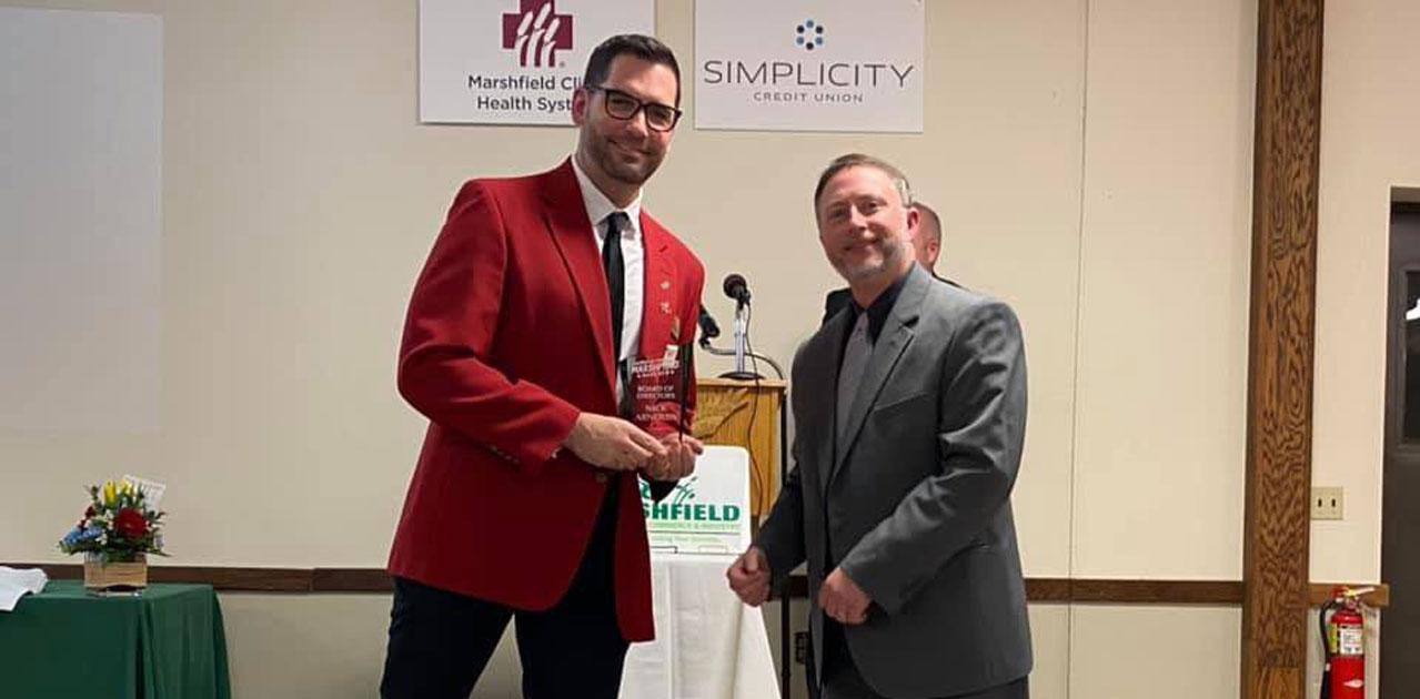 Nick Arnoldy chamber award