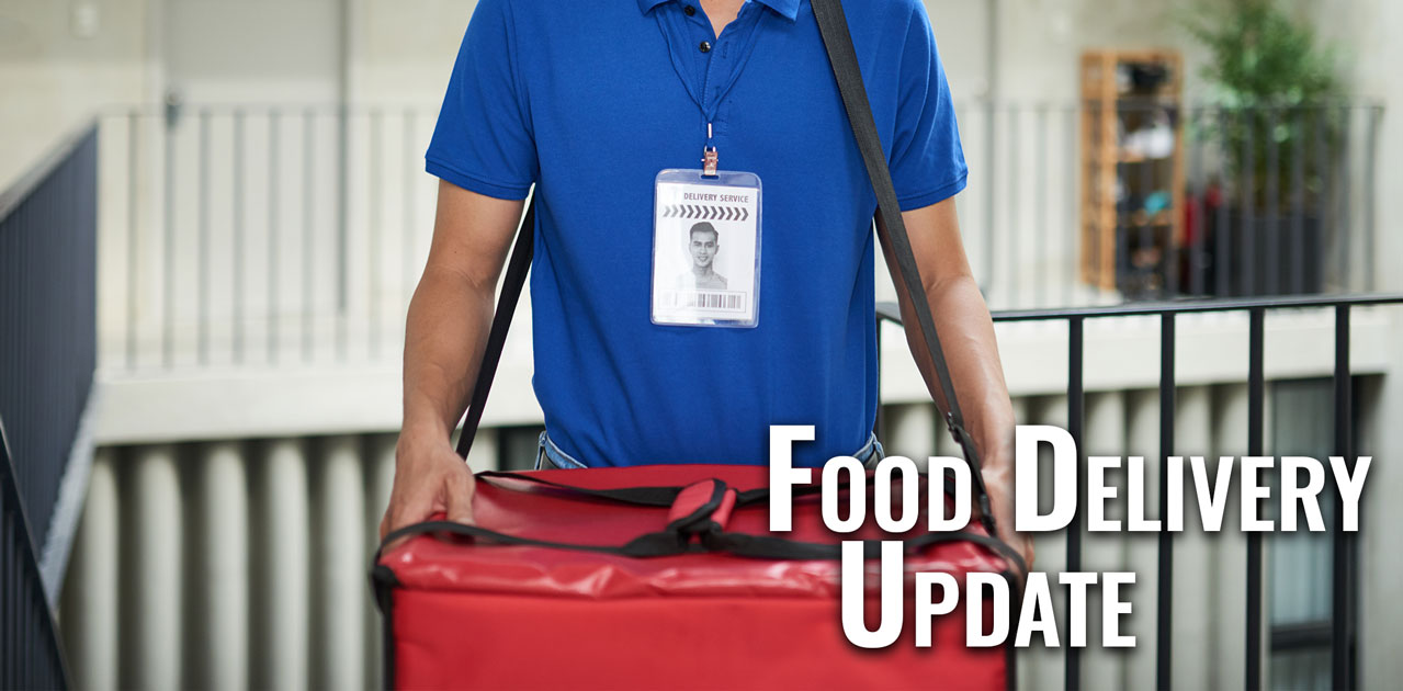 food delivery update