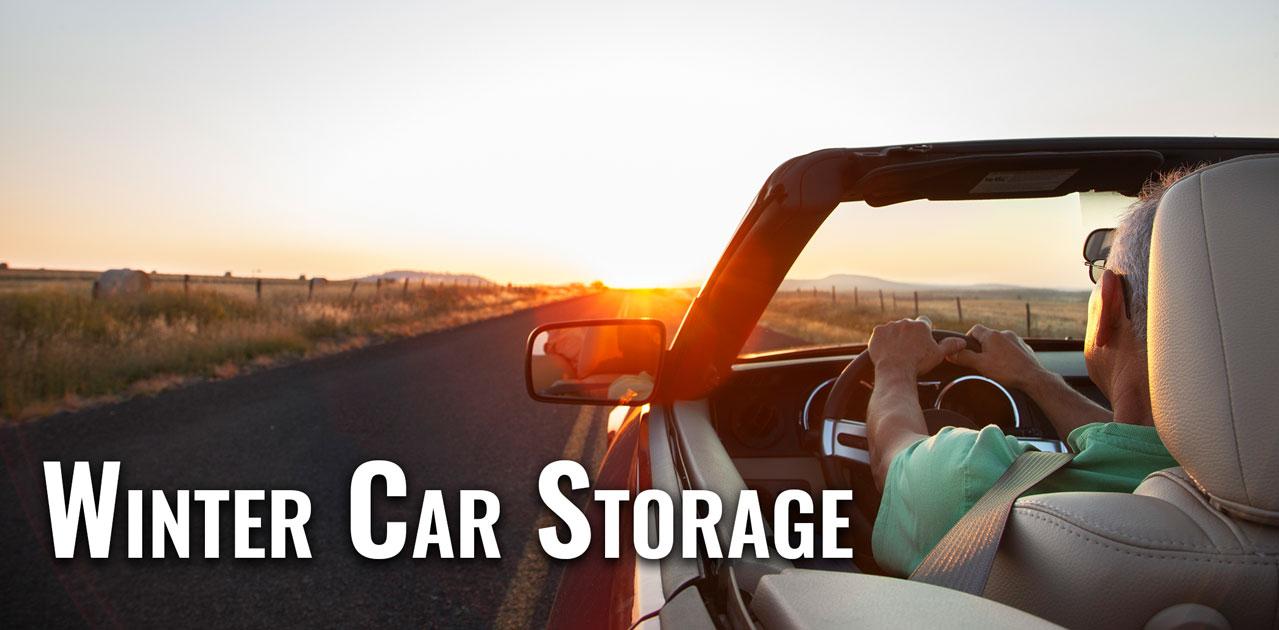 winter car storage