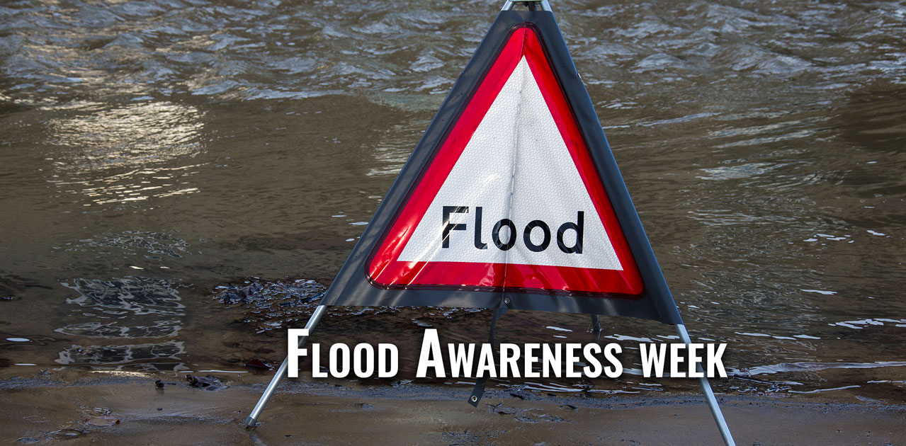 flood awareness sign