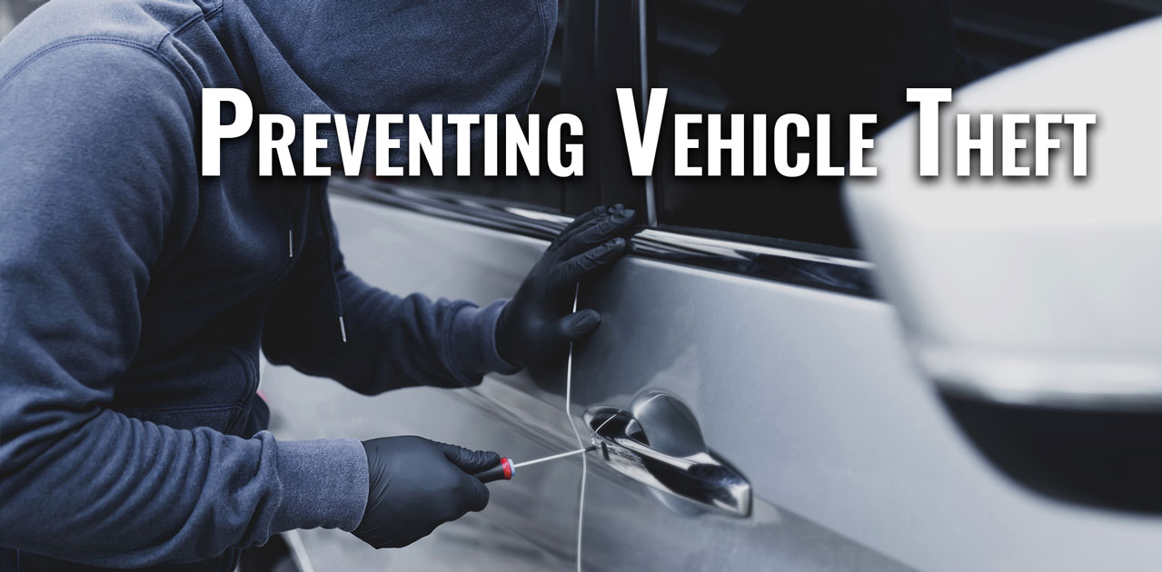 prevent vehicle theft