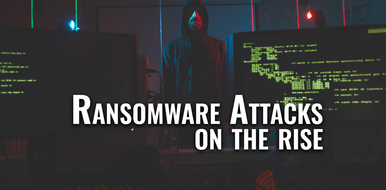ransomeware attacks increase