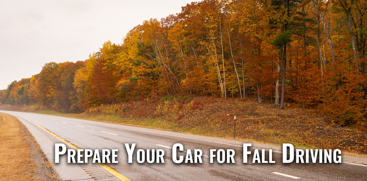 prepare your car for fall driving